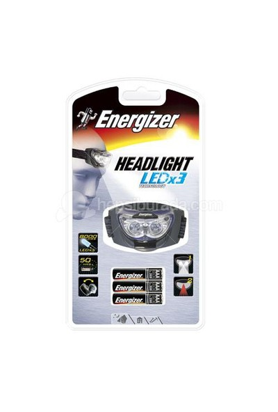 Energizer (G6-2294) Headlight 3AAA Pilli Fener