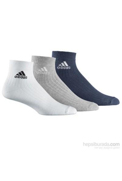 Adidas Ankle Rib T 3Pp Çorap