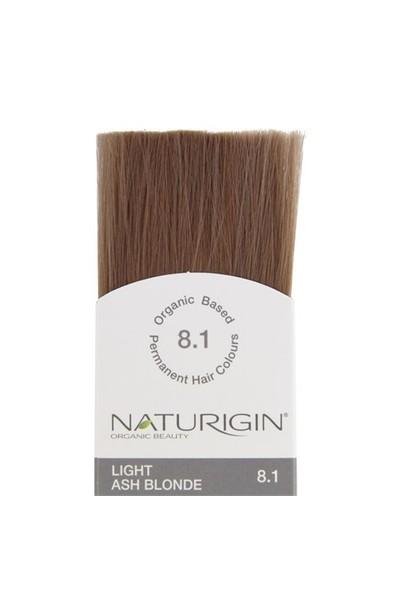 Naturigin Organik İçerikli Saç Boyası Açık Kül Sarısı 8.1