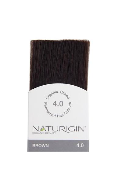 Naturigin Organik İçerikli Saç Boyası Kahverengi 4.0