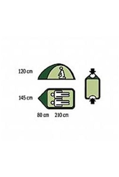 Husky Bızam Green Light Açık Yeşil 2 Kişilik Çadır