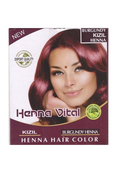 Henna Vital Vital Kına Kızıl