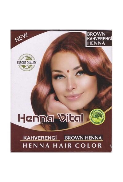 Henna Vital Vital Kına Kahverengi