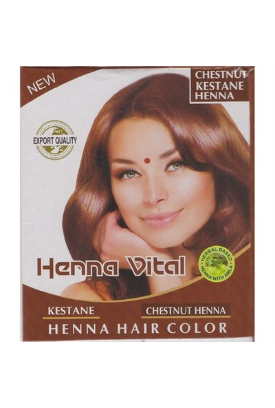 Henna Vital Vital Kına Kızıl Kestane