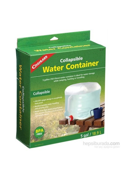 Coghlan's Collapsible Water Carrier (Katlanır Su Bidonu)