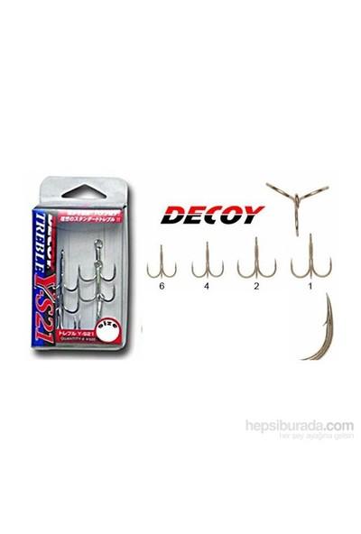 Decoy Y-S21 Standart Üçlü İğne 6 Adet No: 1