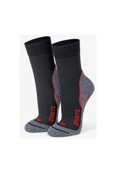 Gabriel Najdorf Siyah Termal Trekking Çorap