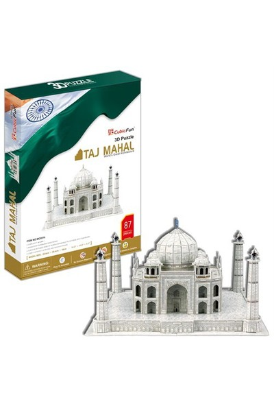Cubic Fun Puzzle Taj Mahal (3 Boyutlu)