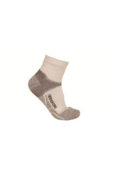 Thermoform Coolmax Walking Beyaz Patik Çorap
