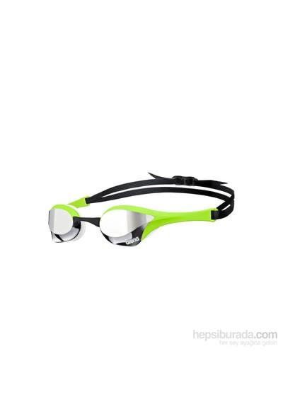 Arena Cobra Ultra Mirror Silver Green Yüzücü Gözlüğü