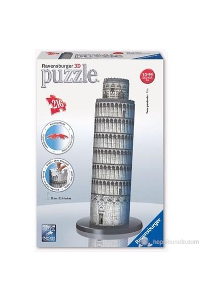 Ravensburger 3 Boyutlu 216 Parçalı Plastik Puzzle Pisa Kulesi-125579