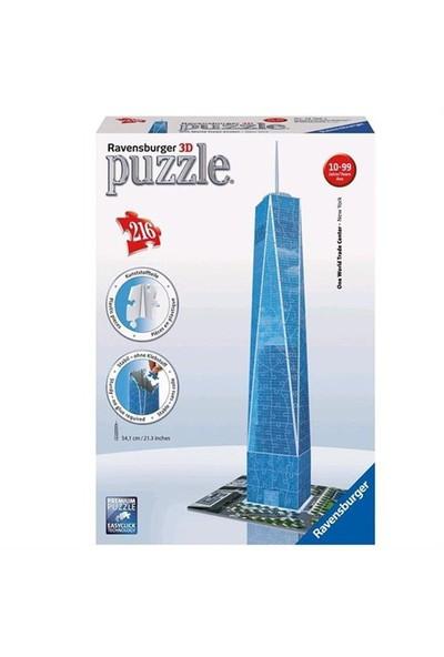 Ravensburger 3 BoyutluPlastik PuzzleDünya Tic Merkezi-125623
