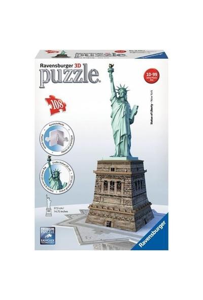 Ravensburger 3 BoyutluPlastik PuzzleÖzgürlük Anıtı-125845