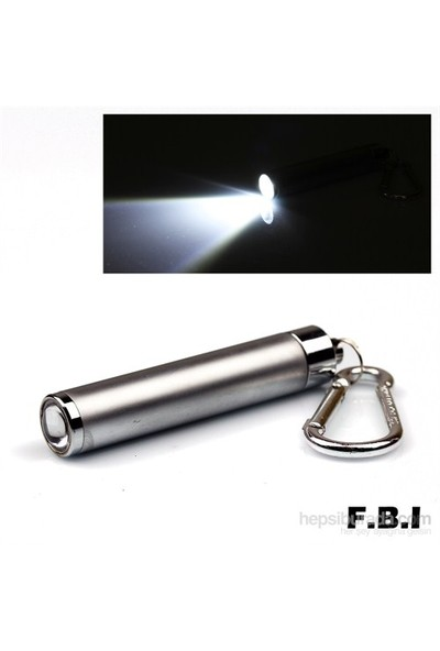F.B.I Zoom Pompalı Anahtarlık Fener F-004G