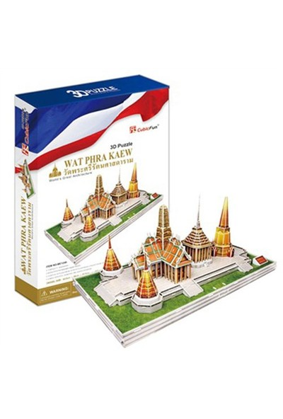 Cubic Fun Wat Phra Kaew Tayland 3D Puzzle