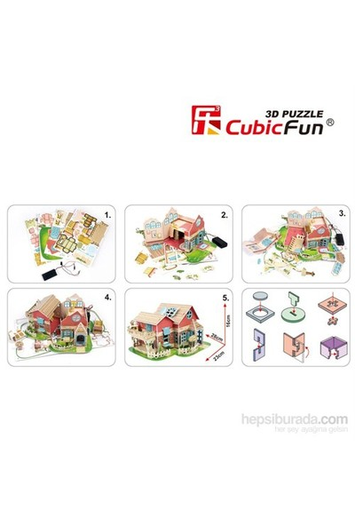 Cubic Fun 3D Maket Ev - Sweet Villa