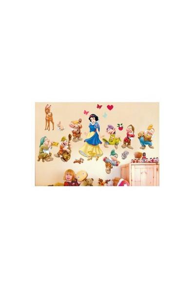 Disney Pamuk Prenses Vinil Duvar Stickerı