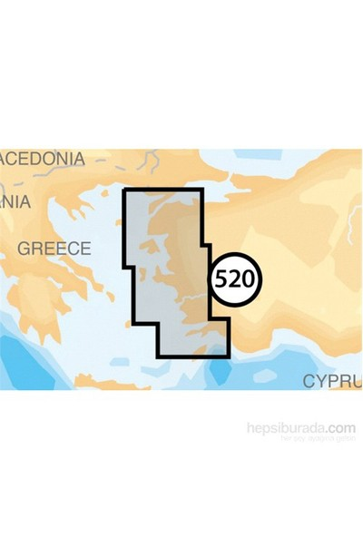 Navionics Gold Harita Kartuşu. 520 Ege