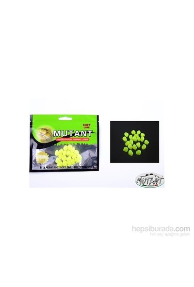 Mutant 3500 - 03 Plastik Mısır Suni Yem 1 Cm 20 Li Paket