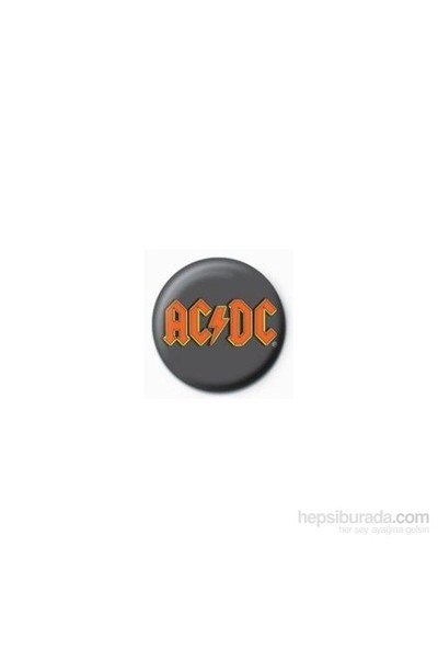 Rozet - AC/DC - Logo