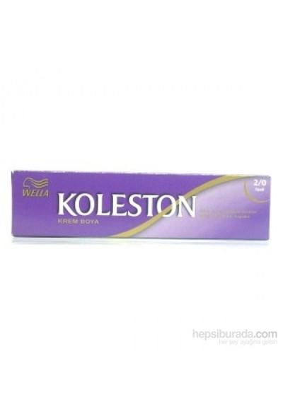 Koleston Tup Boya 2/0 Siyah.