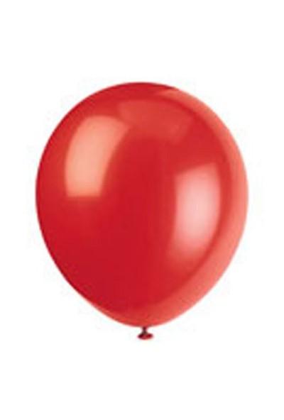 Parti Dünyası / Balon / 25 Adet / Kırmızı