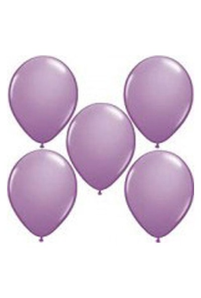 Parti Dünyası / Balon / 25 Adet / Lila