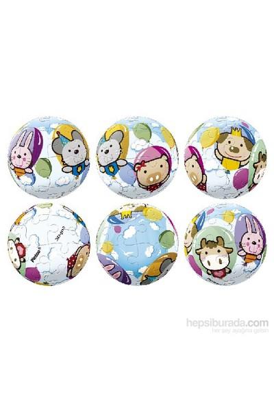 Pintoo Neşeli Balonlar - 24 Parça Anahtarlık Puzzle