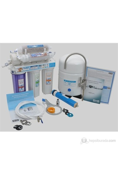 BMB RO-10 + Alkalin + Detox Su Arıtma Cihazı