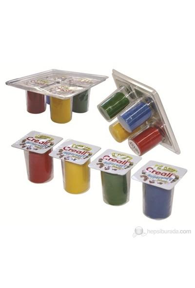 Creall Kurumayan Sağlıklı Oyun hamuru 160 Gr 4 renk
