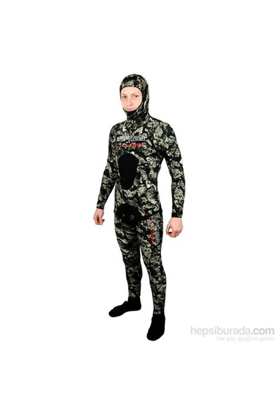 Apnea Legend 3D 5Mm Kamuflaj Serbest Dalış Elbisesi