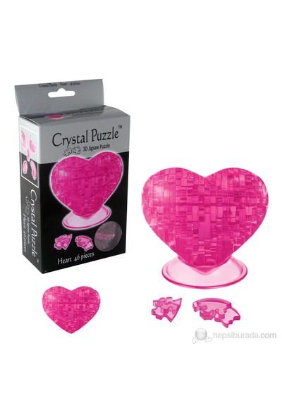 Pembe Kalp Crystal Puzzle