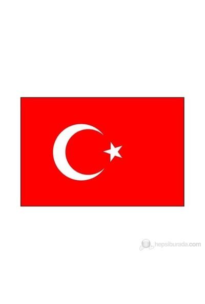Türk Bayrağı Alpaka Kumaş 100x150