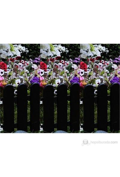 Garden Rose Bahçe Çiti - Siyah