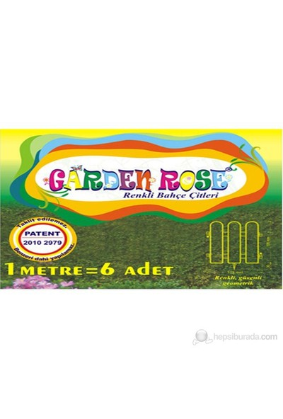 Garden Rose Bahçe Çiti - Mavi