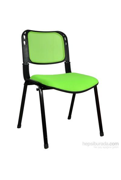 2016R0543 - Bürocci Fileli Form Sandalye - Yeşil
