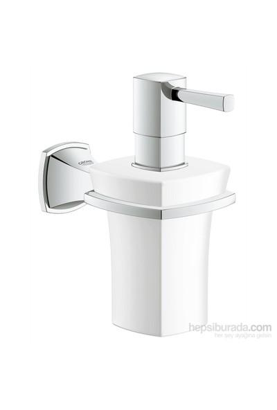 Grohe Grandera Seramik Sıvı Sabunluk Ve Tutacağı Banyo Aksesuarı - 40627000