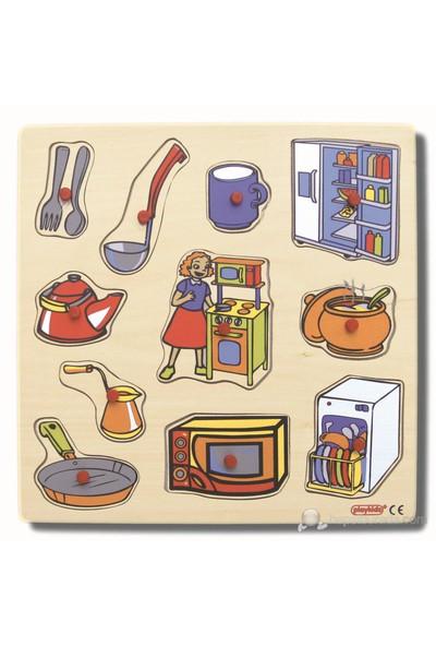 Ekoplay Mutfak Ahşap Yapboz (30 x 30 cm)