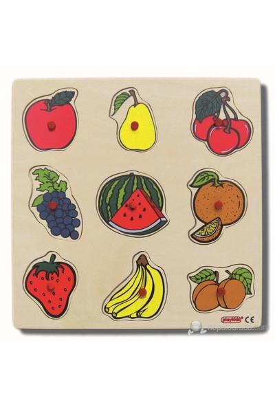 Ekoplay Meyveler Ahşap Yapboz (30 x 30 cm)