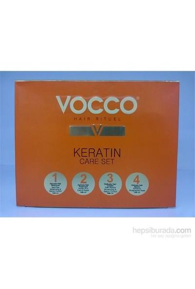 Vocco Keratin 4 Lü Saç Bakım Seti
