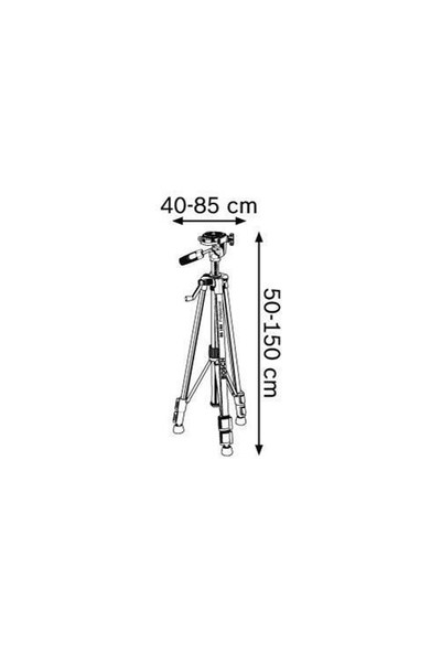 Bosch Bt 150-Tripod Ayak (Sehpa) 1,5 Metre