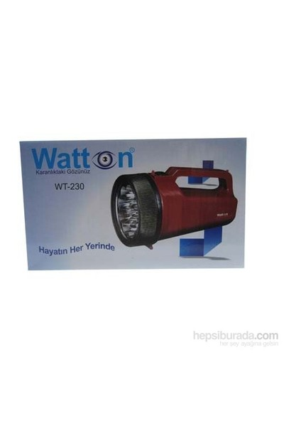 Blackwatton Wt-230 16 Led Lantern