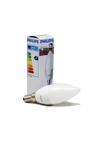 Philips 4W Led E14 Sarı Gün Işığı Mum