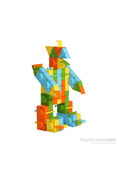King Kids Art Blok Lego 132 Parça