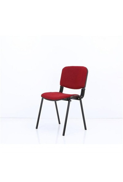 Kombin Mobilya Form Sandalye - Bordo