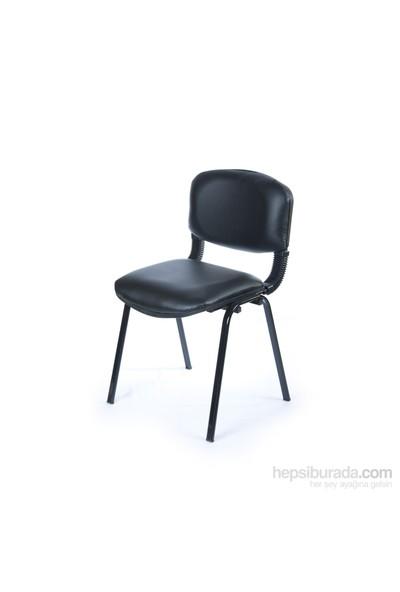 Kombin Mobilya Form Sandalye - Siyah