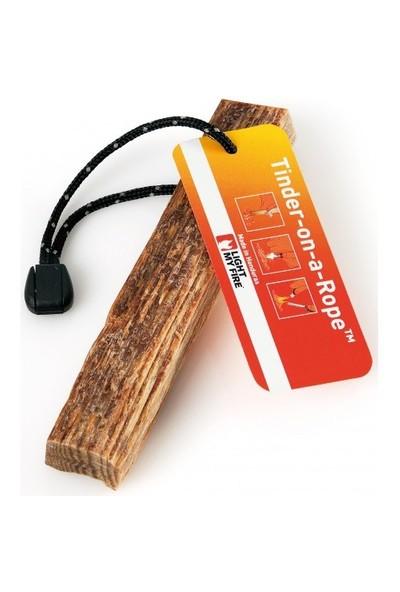 Light My Fire® Tinder-on-a-Rope™ Kolay Tutuşan Doğal Çıra