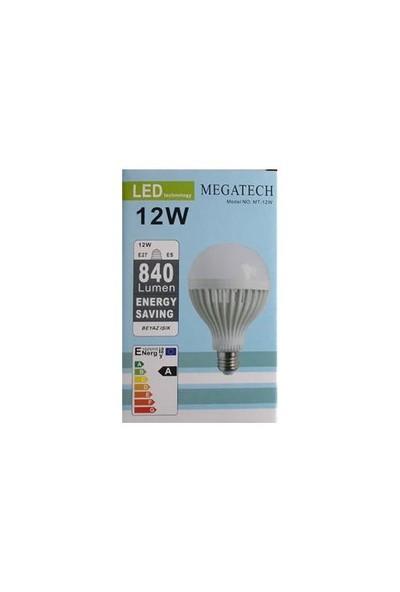 Megatech 12W Beyaz Led Ampul