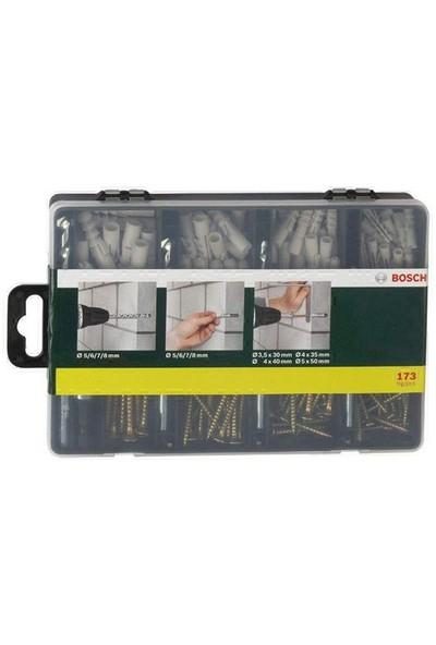 Bosch 173 Parça Vidalama Ve Sabitleme Seti 019170