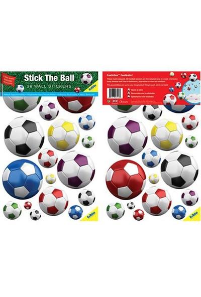 Funtosee Dekoratif Stickerlar Stick The Ball